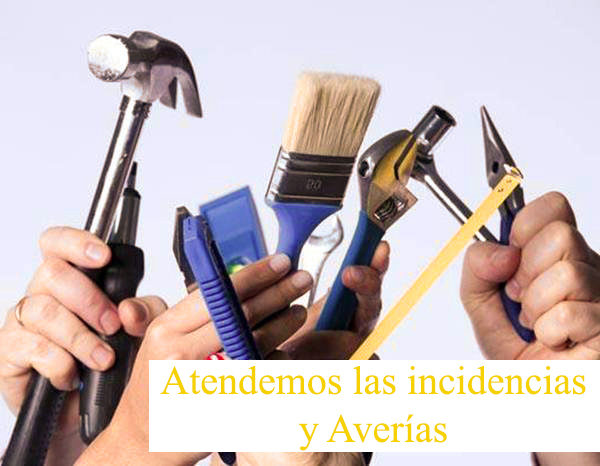 atención de incidencias y averias